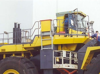 Emergency Egress Systems for Mining Loaders
