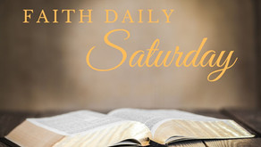 Faith Daily | 23 October 2021