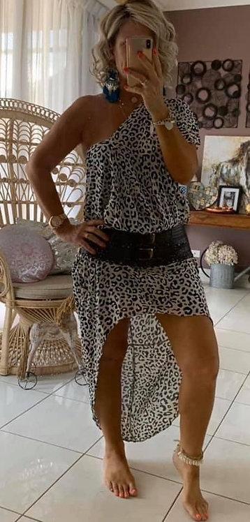 Tilly Maxi - Cream Cheetah