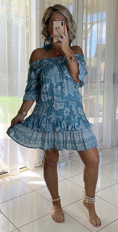 Molly - Blue Bindi