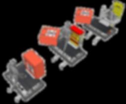 Heizpaket für Notausgangssystem
