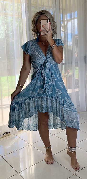 Augie - Blue Bindi