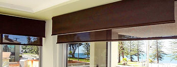 Roller blinds in Brisbane northside location
