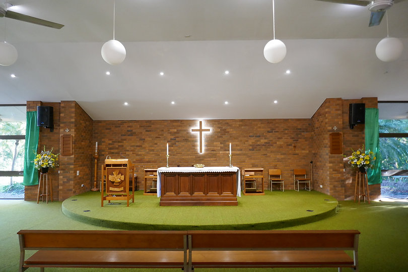 Kenmore Holy Spirit Church, 1036 Moggill Road, Kenmore