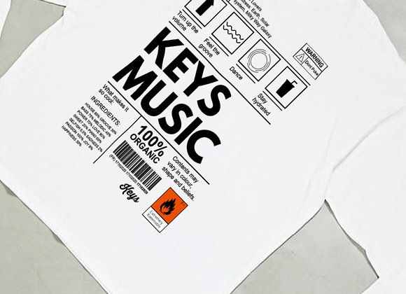 Keys Music I Organic White