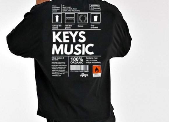 Keys Music I Organic Black