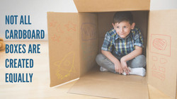 Not all cardboard boxes
