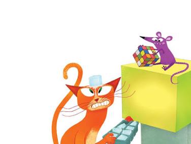 Cube Cat, Cone Cat