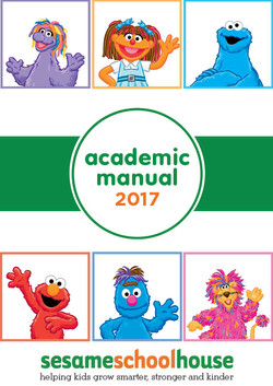 Sesame SchoolHouse Academic Manual