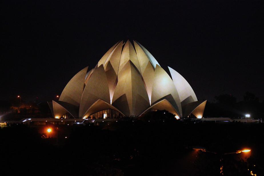 The Lotus of Delhi