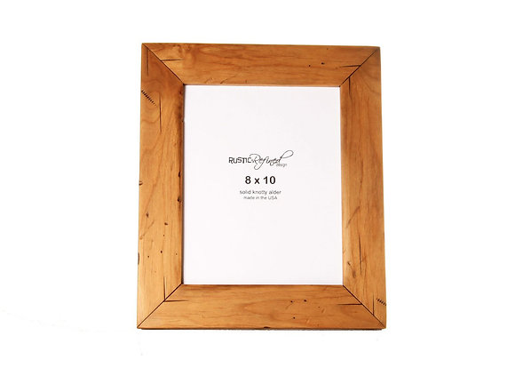 8x10 Cabin picture frame - Natural Alder