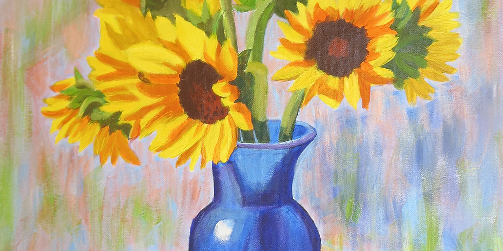Painting for a Purpose - Sunflowers