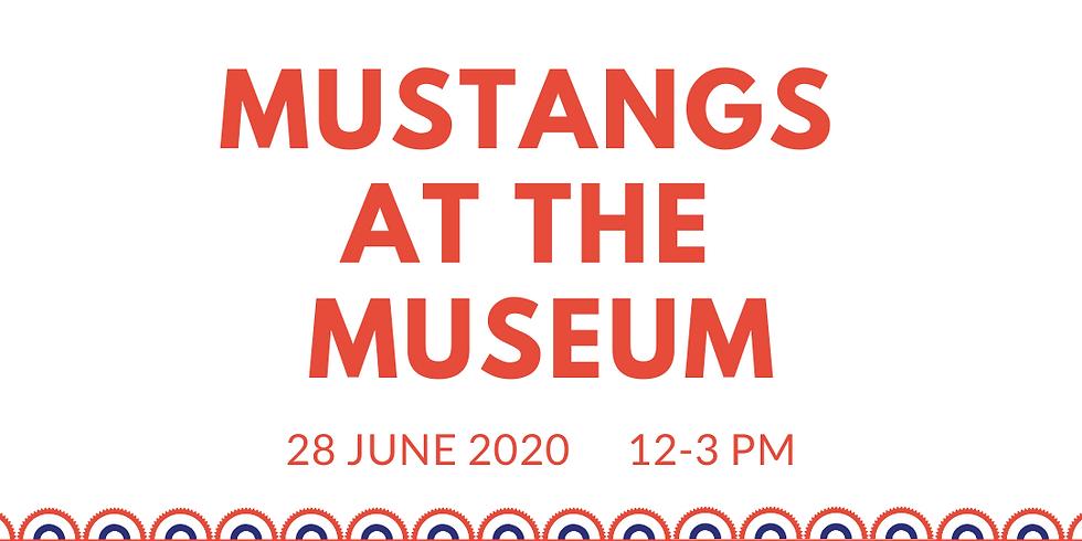 Mustangs at the Museum