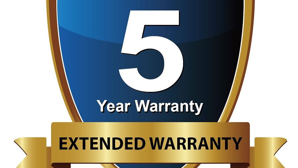 5 Year Extendable Warranty