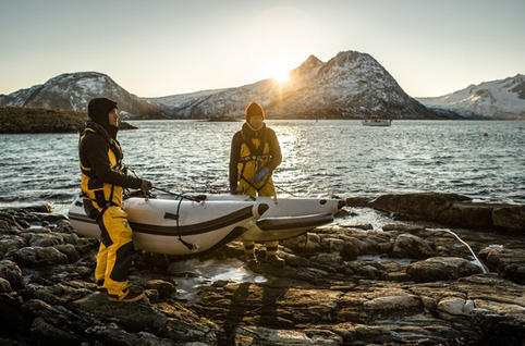 Ultra Light Inflatable Boat
