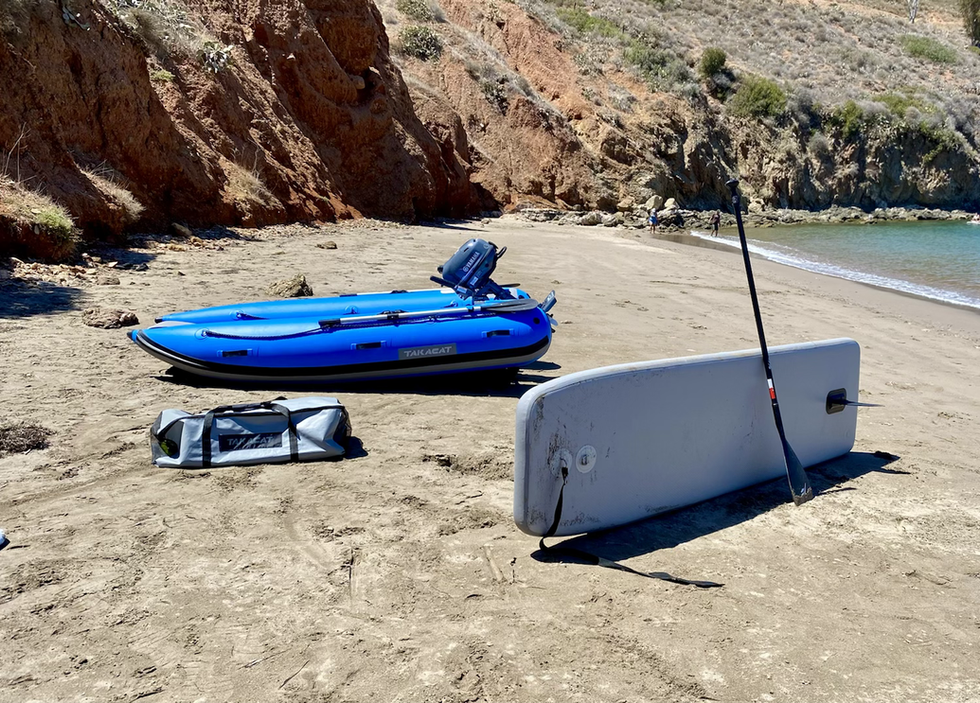 Takacat 300LX with 340 Paddle Board Floor