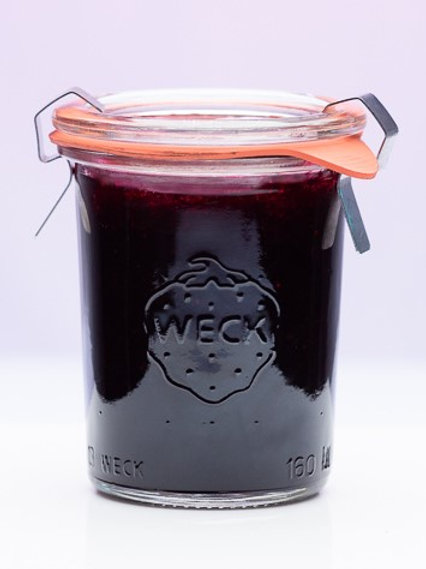 Huckleberry Classic Jam (Weck 5.5 oz jar)