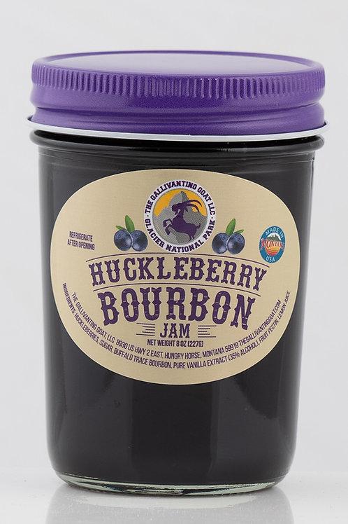 Huckleberry Bourbon Jam