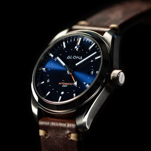 Blue Sunburst GMT 40