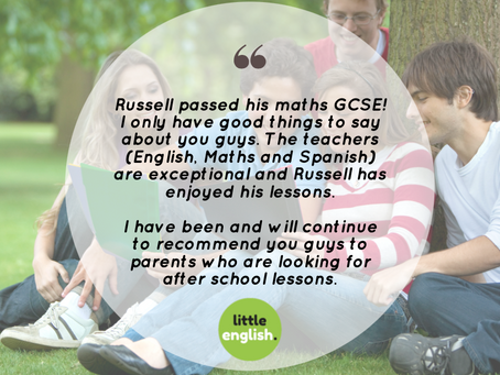 Well done, Russell!