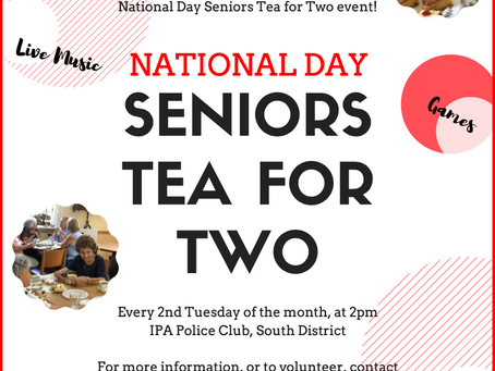Seniors Tea for Two