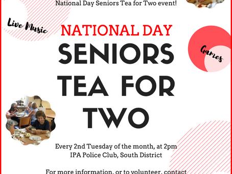 Seniors Tea for Two