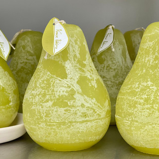 Vance Green Pear Candles