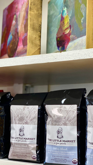 Our own Coffee and Local Artist's Prints
