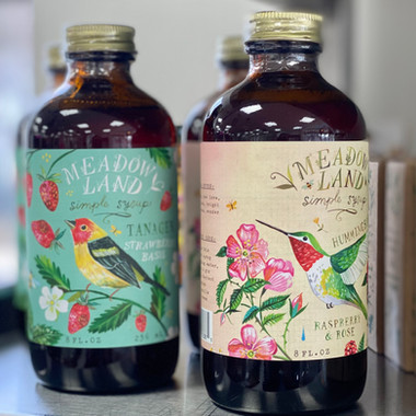 Meadow Land Simple Syrups