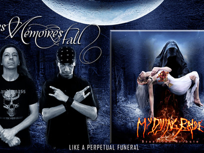 LES MÉMOIRES FALL: Made available their song from the Brazilian Tribute to 'My Dying Bride'