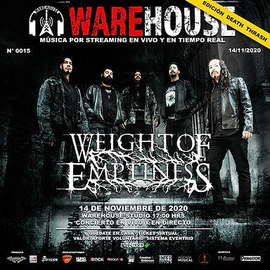 WEIGHT OF EMPTINESS: ¡Anunciado show en vivo online de la banda!