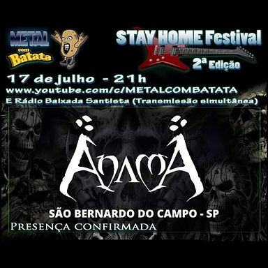 ANAMA: Confirmed at Stay Home Festival!