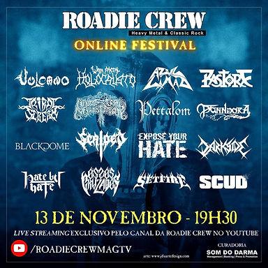 SETFIRE: Confirmado no Roadie Crew Online Festival!