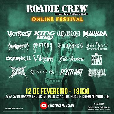 REVENGIN: Banda participa do festival da Roadie Crew nesta sexta-feira