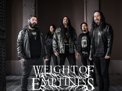 WEIGHT OF EMPTINESS: Banda se junta ao cast da EM Music Management