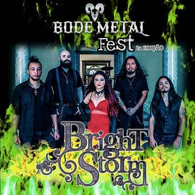 BRIGHTSTORM: Confirmed at Bode Metal Fest!