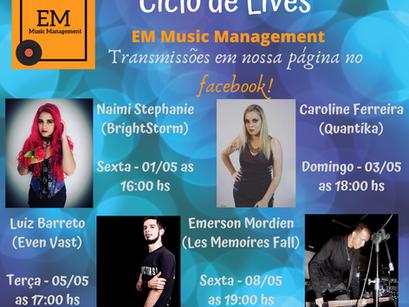 Ciclo de Lives EM Music Management