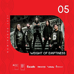 WEIGHT OF EMPTINESS: Nominados como el mejor show, en importante premio de la música chilena