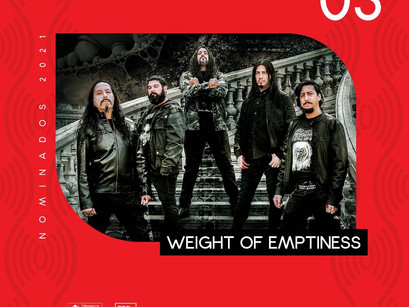 WEIGHT OF EMPTINESS: Nominated for best show, in an important award of Chilean music