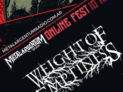 WEIGHT OF EMPTINESS: Confirmado en el Metal ArgentuM Online Fest!