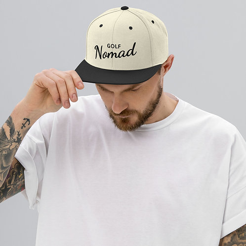 Fancy Nomad Black Snapback Hat