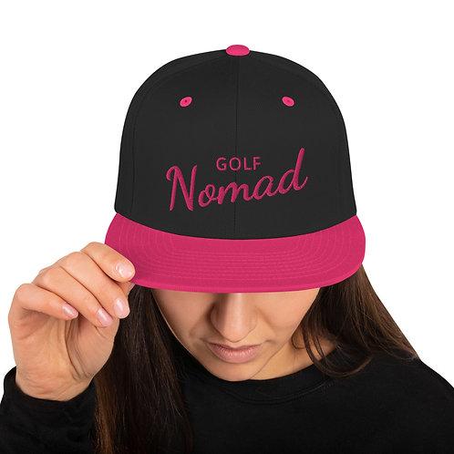 Fancy Nomad Pink Snapback Hat
