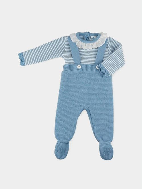 Conjunto Peto + Jersey bebé familia Nina SARDON