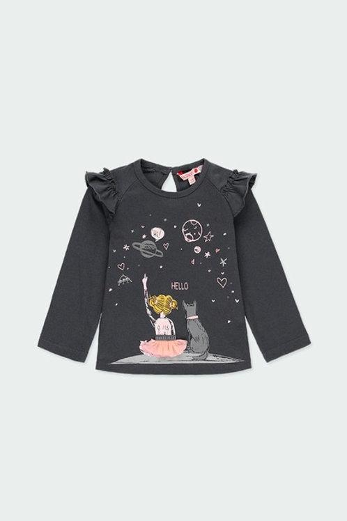 Camiseta galaxia rosa BOBOLI