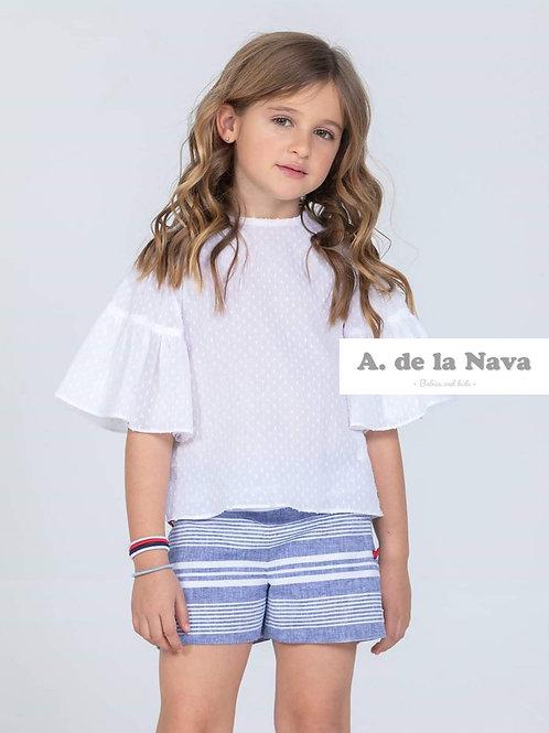 Conjunto camisa y pantalón Colección Marinera