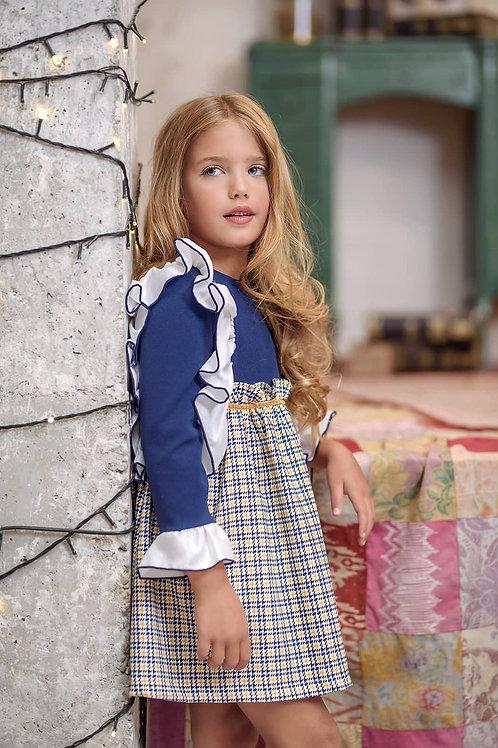 Vestido infantil familia Arlequín MARTA Y PAULA