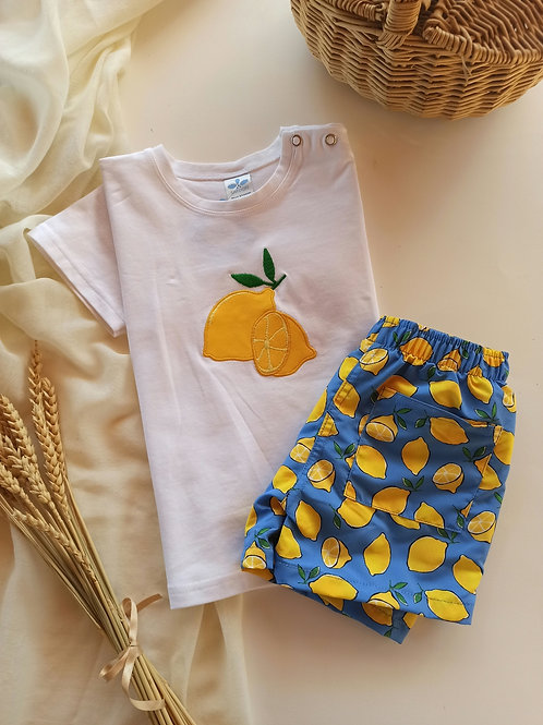 Camiseta infantil fam. Limones SARDON