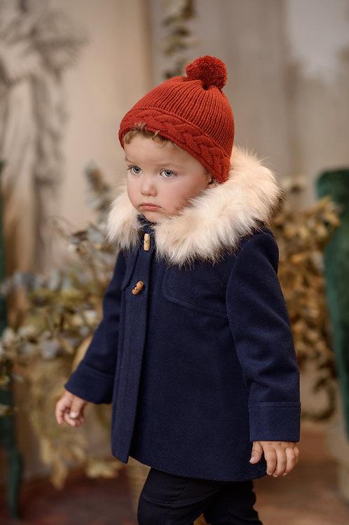 Abrigo bebé con capucha MARTA Y PAULA