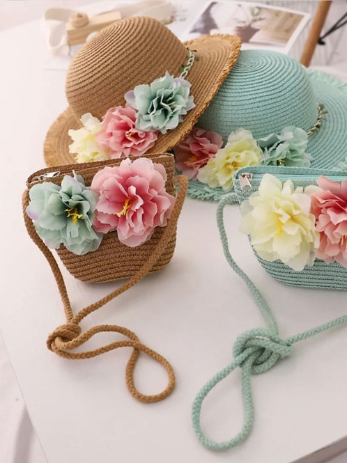 Sombrero floral NAVITA