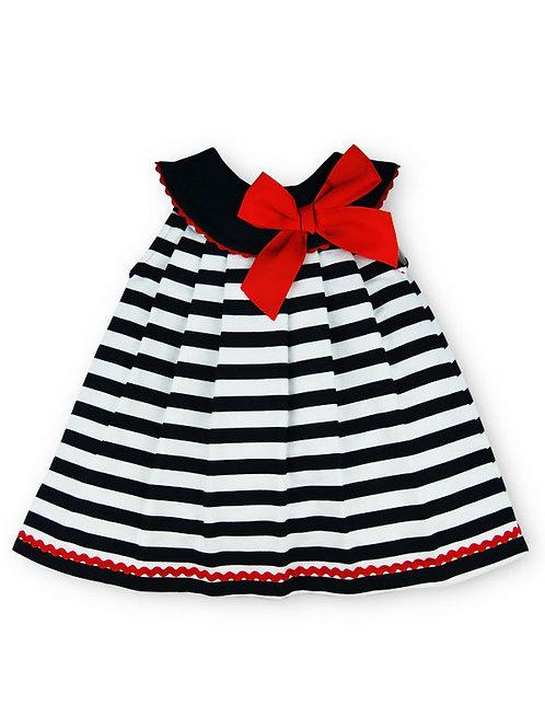 Vestido algodón marinero familia Náutica SARDON